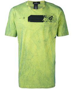 STONE ISLAND SHADOW PROJECT | Tie Dye Logo T-Shirt Size Large