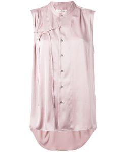 A.F.Vandevorst | Tie Front Blouse 42 Polyester