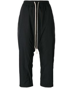 Rick Owens | Drop-Crotch Cropped Trousers 44 Polyester