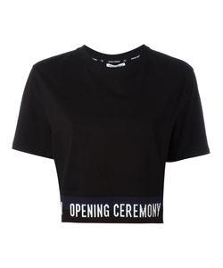 Opening Ceremony   Slogan Trim T-Shirt Size Medium