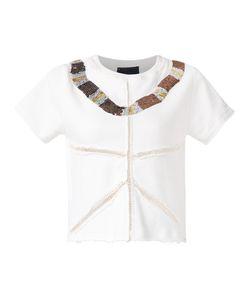 Andrea Bogosian | Embroidered Sweatshirt Blouse Women