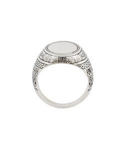 Andrea D'amico | Pattern Round Ring Medium