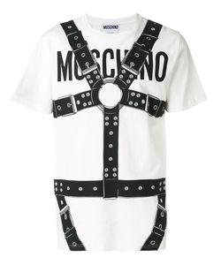 Moschino | Logo And Harness Print T-Shirt