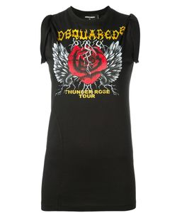 Dsquared2 | Thunder Tour Print Tank Top Small