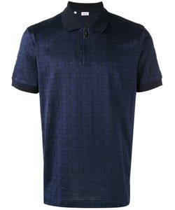 Brioni | Checked Polo Shirt M