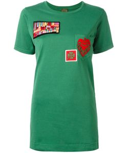 MR & MRS Italy | Multipatch T-Shirt 42 Cotton