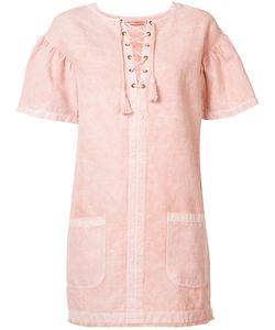Ulla Johnson | Drawstring Shift Dress Size 8 Cotton/Linen/Flax