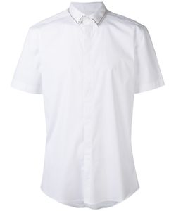Les Hommes | Short Sleeve Fitted Shirt