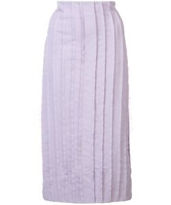 JONATHAN COHEN | Frayed Pleat Skirt Size 2