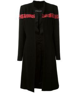 Jean Louis SCHERRER VINTAGE   Sequin And Bead Embellished Coat Size