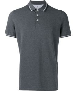 Brunello Cucinelli | Plain Polo Shirt Large Cotton