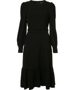 Co | Belted Shift Dress Small Triacetate/Polyester