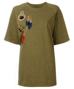 MR & MRS Italy | Multipatch T-Shirt 40 Cotton
