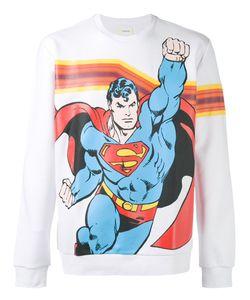 ICEBERG | Superman Print Sweatshirt M