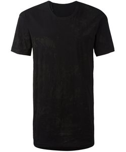 11 BY BORIS BIDJAN SABERI | Stained Detail T-Shirt