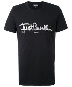 Just Cavalli | Футболка С Принтом Логотипа