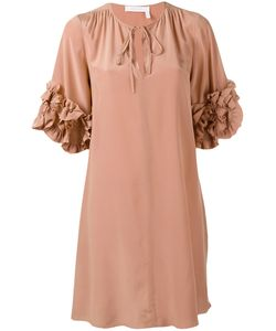 See By Chloe | See By Chloé Frill Sleeve Dress Size 36