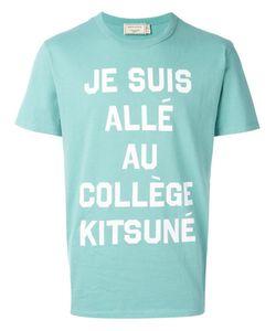 Maison Kitsune | Maison Kitsuné College T-Shirt Xs Cotton
