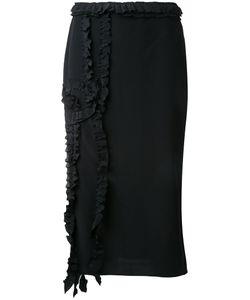 Rochas   Ruffled Detail Skirt 38