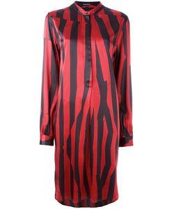 Ann Demeulemeester | Blanche Striped Button Front Dress Size 38