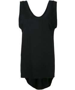 Bassike | Scoop Neck Tail Tank Top