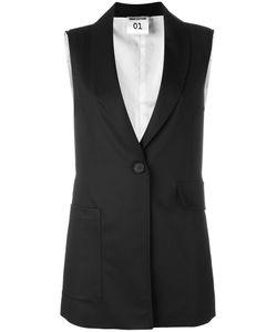 Semicouture   Classic Waistcoat Size 44