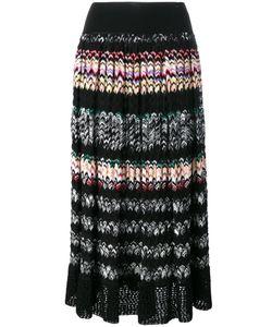 Missoni | Pleated Zig-Zag Stripe Skirt Size 42