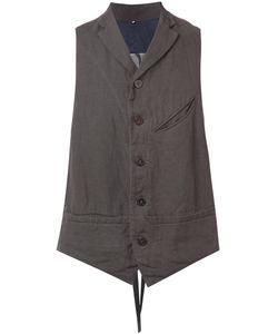 ZIGGY CHEN | Buttoned Waistcoat 50 Cotton/Linen/Flax