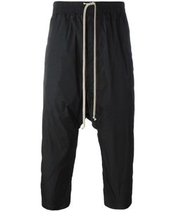 Rick Owens | Drop-Crotch Cropped Track Pants 50 Polyester