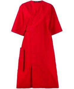 Sofie D'Hoore | Poplin Wrap Dress Size 38