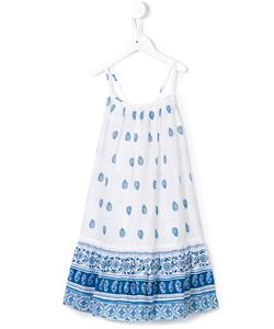 Sunuva | Ikat Paisley Tie Strappy Dress 10 Yrs