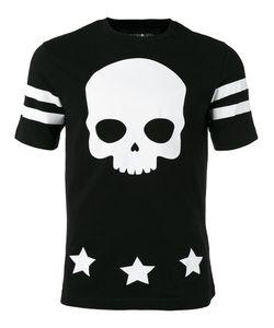 Hydrogen   Skull Print T-Shirt Size Small