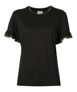 Grey Jason Wu   Pleated Trim T-Shirt