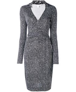 Diane Von Furstenberg | Speckled Wrap Dress