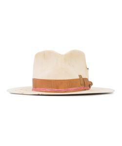 NICK FOUQUET | Contrast Trim Hat 56 Beaver Fur/Polyester