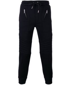 Les Hommes | Tape Track Trousers Large Cotton