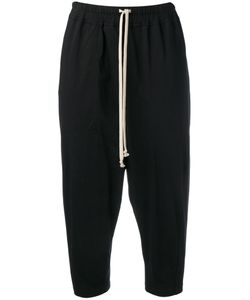 RICK OWENS DRKSHDW | Drawstring Cropped Trousers Size Small