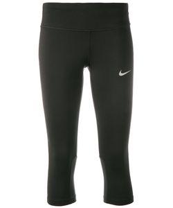Nike | Logo Print Cropped Leggings Size Xs