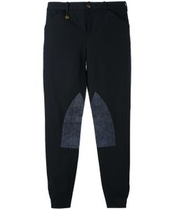 Ralph Lauren | Knee Patches Skinny Trousers