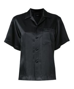 G.V.G.V.   Satin Shortsleeved Shirt 36 Rayon