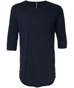 KAZUYUKI KUMAGAI | Curved Hem T-Shirt 2 Cotton