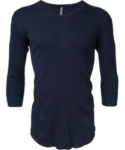 KAZUYUKI KUMAGAI | Three-Quarter Sleeve T-Shirt 2 Cotton
