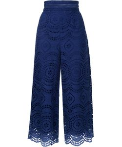 Zimmermann | Broderie Anglaise Cropped Trousers
