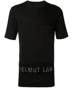 Helmut Lang | Mesh Logo T-Shirt