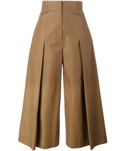 Fendi | Pleated Wide-Leg Trousers Size 42