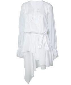 Alexandre Vauthier | Асимметричное Платье С Драпировкой