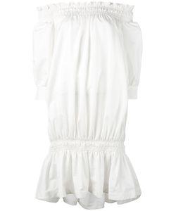 ROSSELLA JARDINI | Присборенное Платье С Открытыми Плечами