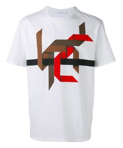Neil Barrett | Рубашка С Графическим Дизайном