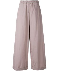 Humanoid | Cropped Palazzo Pants Small Cotton