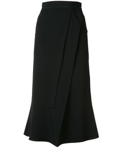 Roland Mouret | Flared Cropped Trousers Size 2